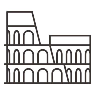 Coliseum arena Icon
