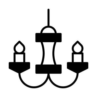 design of Chandelier icon