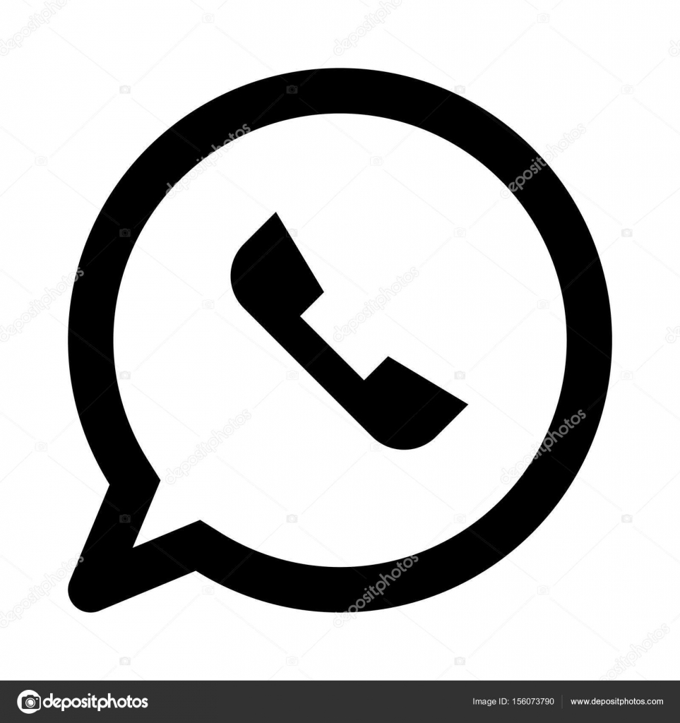 Whatsapp icon illustration — Stock Vector © everydaytemplate #156073790