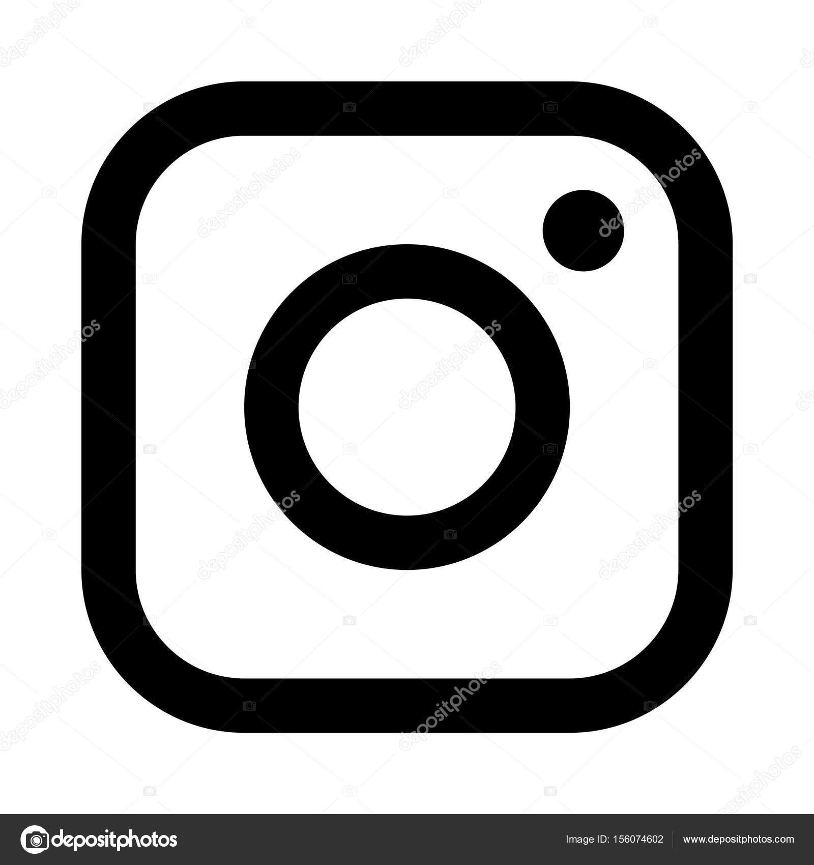 Vector Illustration Instagram: Instagram Icon Illustration