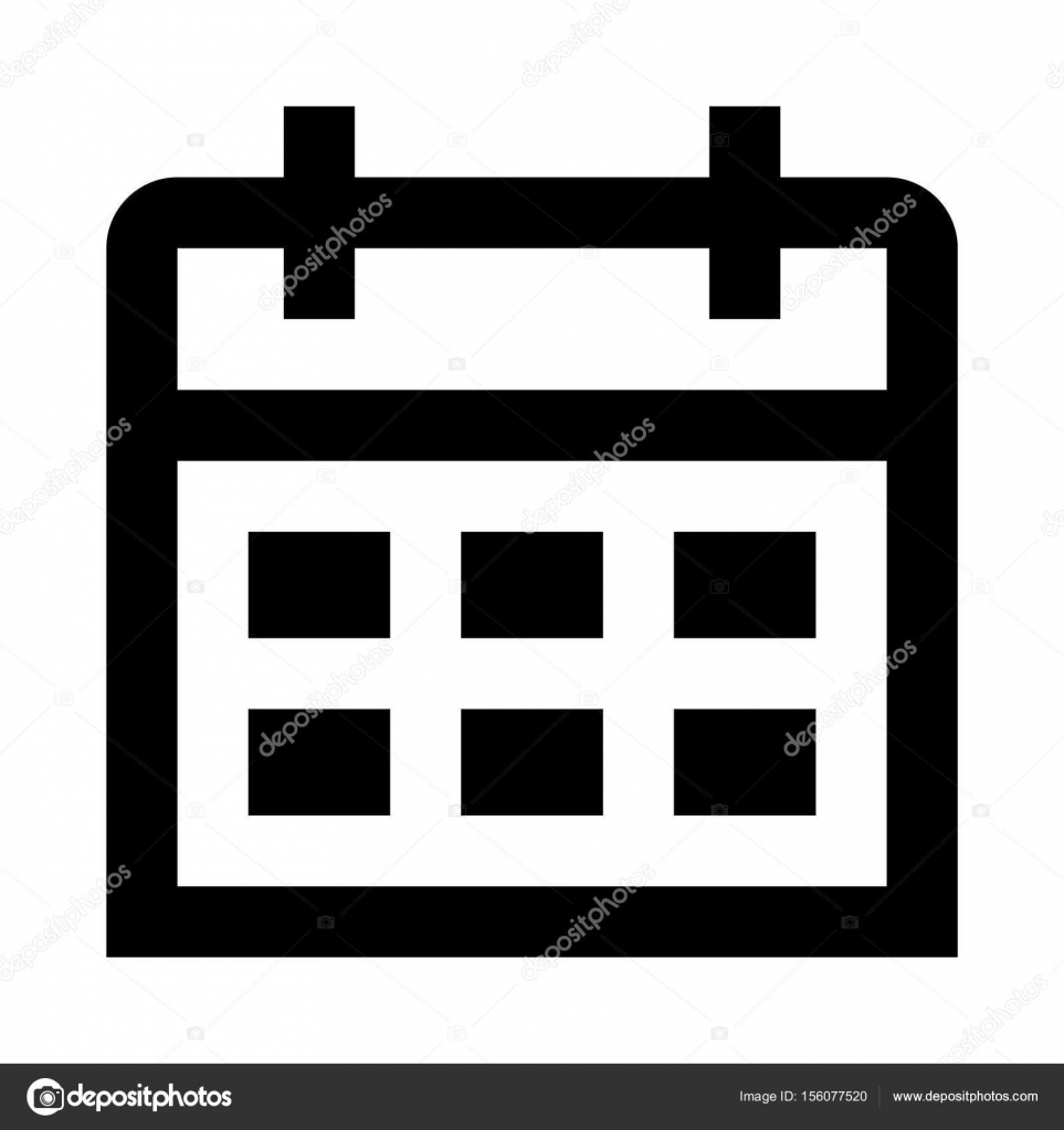 illustration d u0026 39 ic u00f4ne calendrier  u2014 image vectorielle