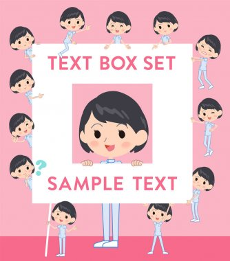 chiropractor woman text box