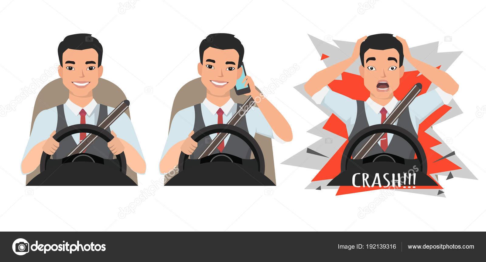 Imágenes: Personas Manejando Y Hablando Por Telefono
