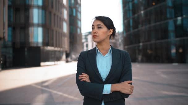 Portrét mladé sexy podnikatelka