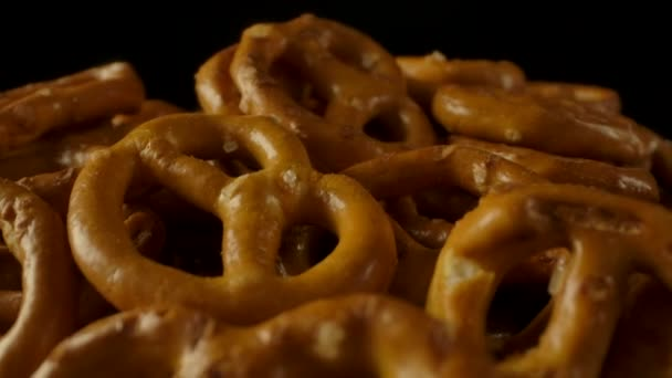 Bowl with fresh tasty pretzels.