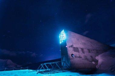 Global seed vaults Longyearbyen in Svalbard Norway