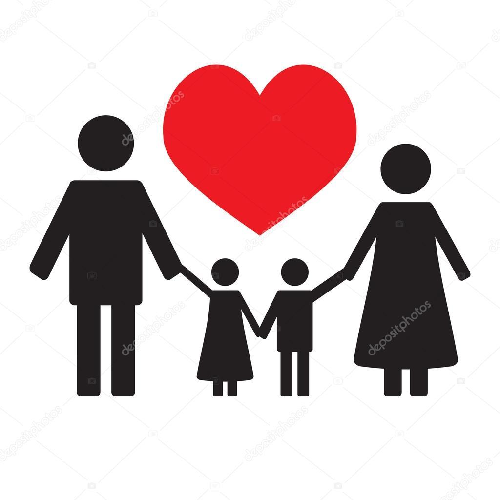 Imágenes Amor De Familia Amor De Familia Feliz Vector De Stock