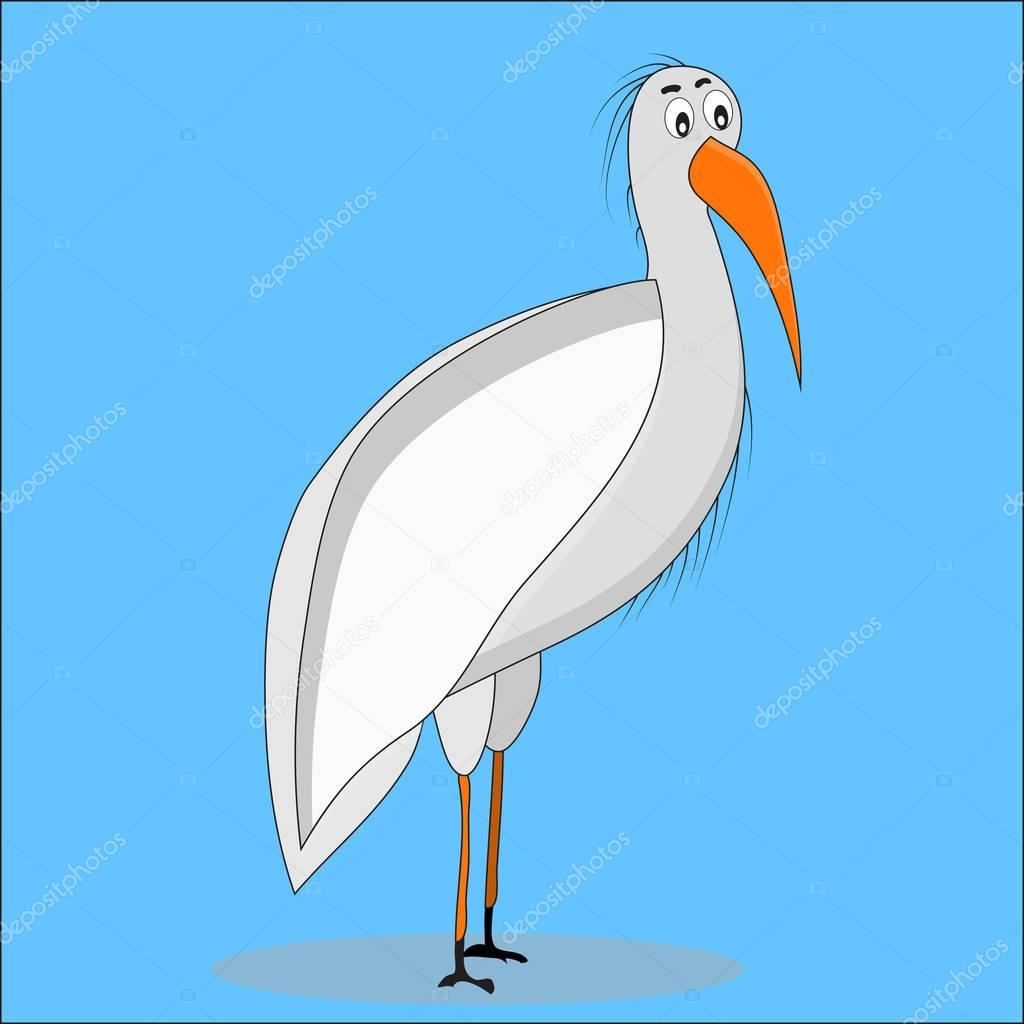 Ibis bird stock vectors royalty free ibis bird illustrations ibis bird cartoon stock illustration buycottarizona Choice Image