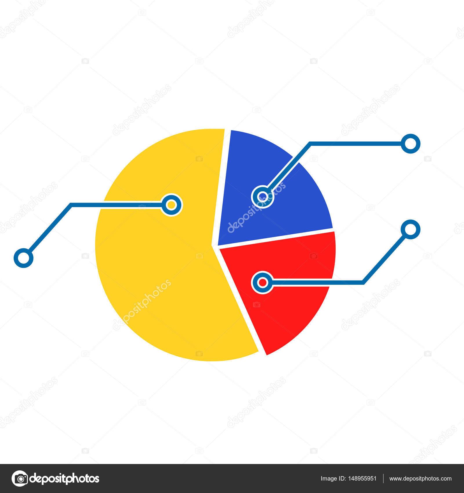 Pie Chart Template Stock Vector C 09910190 148955951