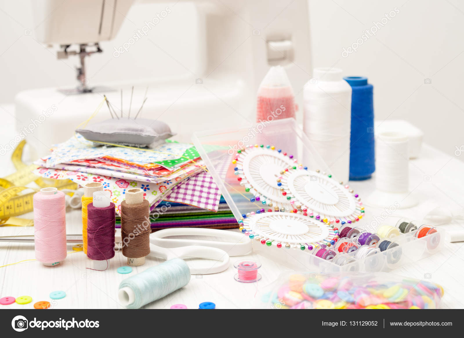 Sewing sewing on the sewing machine sewing supplies for Sewing materials