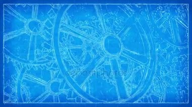 A blueprint for education 4k stock video chromadreamcoat 139253116 gears blueprint sketch 4k loop malvernweather Image collections