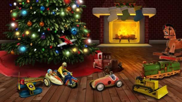 Spirit of Christmas Past Three 4K Loop