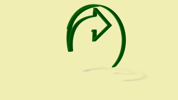 Recycle Symbol Zeichnen Auf Funktionen Ein Yin Yang Typ Recycling ...