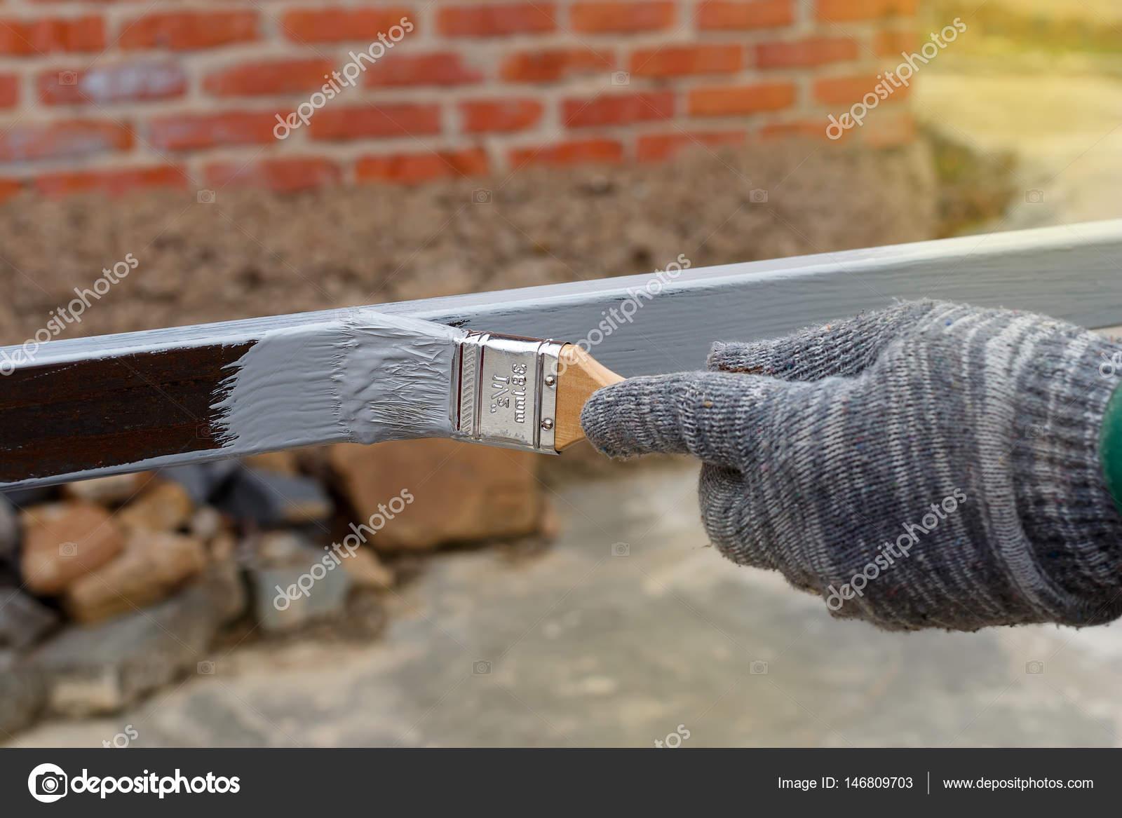 Eldivenli Sol El Boyama Astar Anti Pas çelik Direkleri Inşaat Için