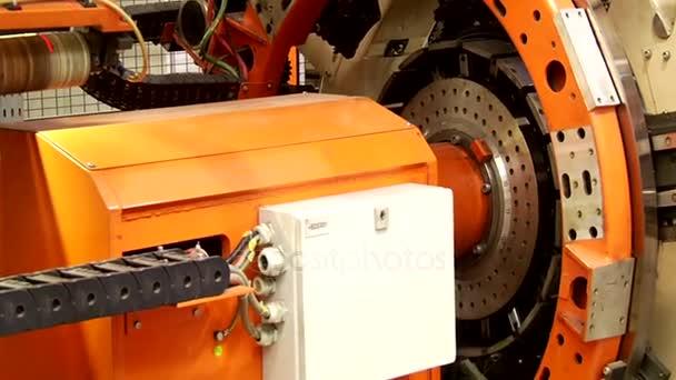 Dvě fáze pneumatiky stavební stroj procesu tvoří pneumatiky