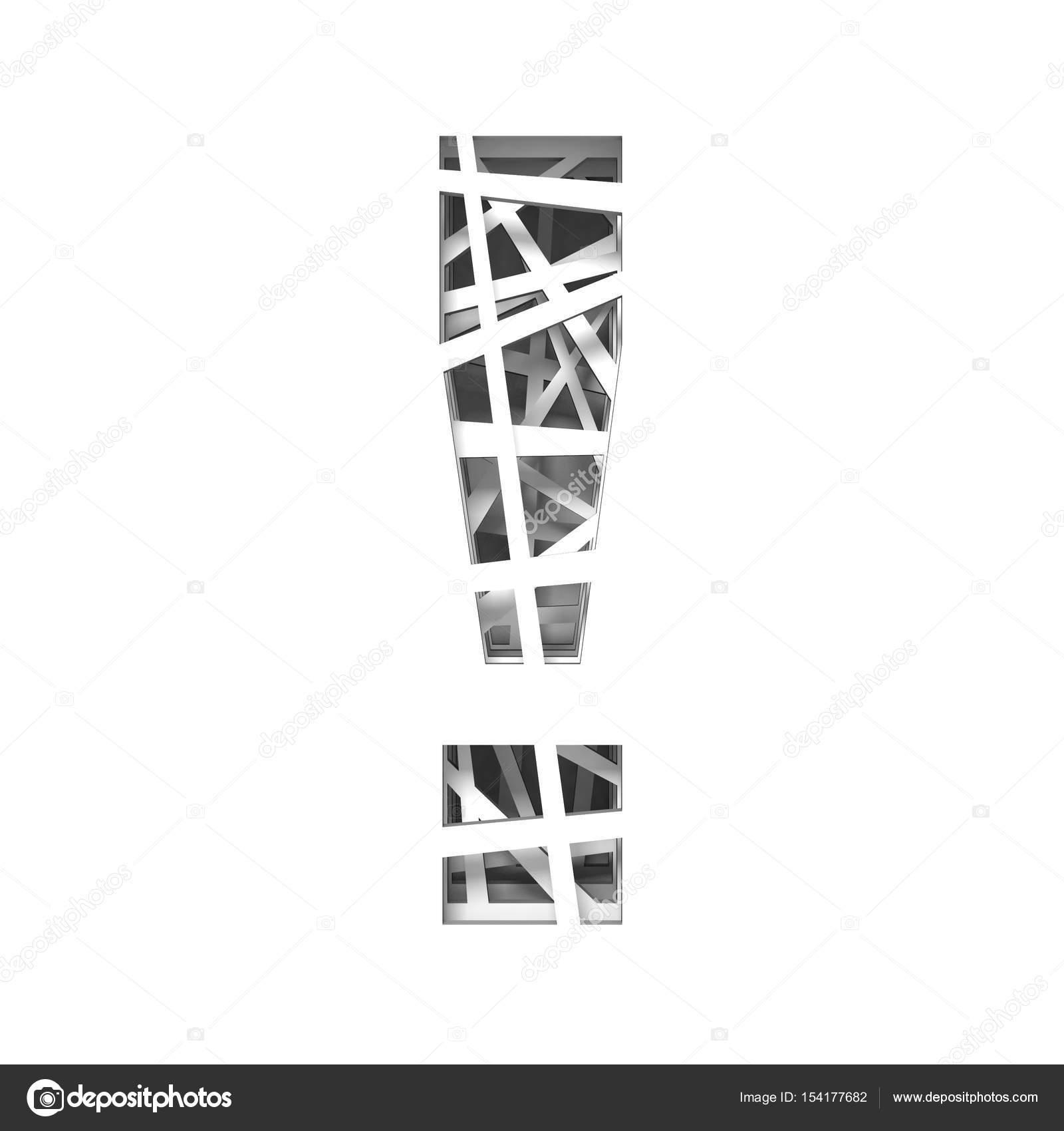 Шаблоны букв для вырезания
