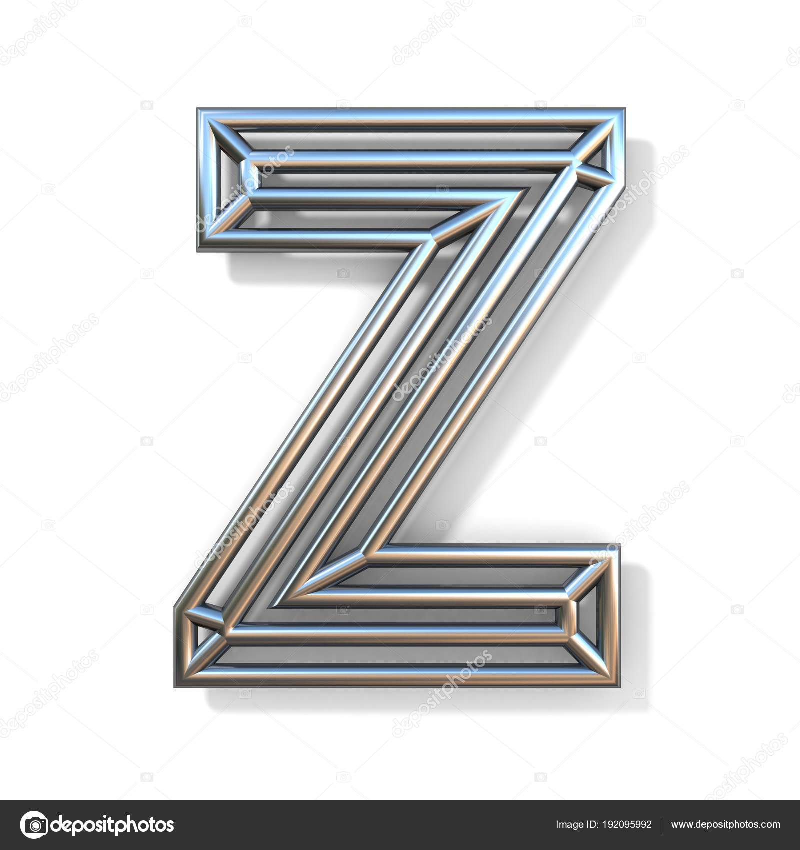 Wire outline font letter z 3d stock photo djmilic 192095992 wire outline font letter z 3d stock photo spiritdancerdesigns Image collections