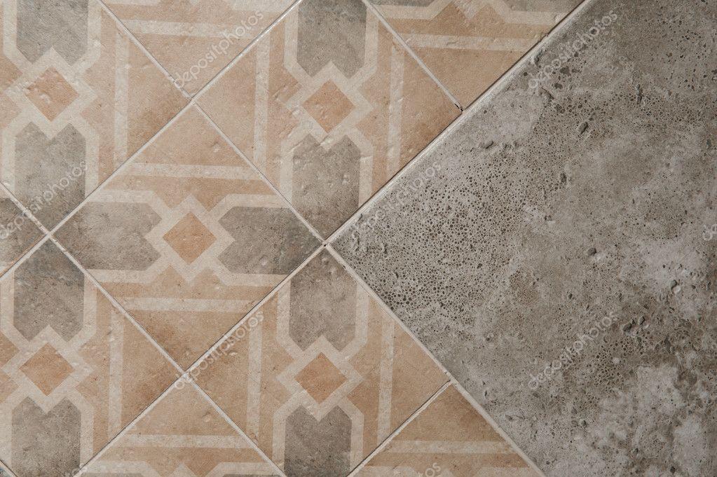 Ba o de mosaico de textura para el suelo de la cocina los - Azulejos de suelo ...