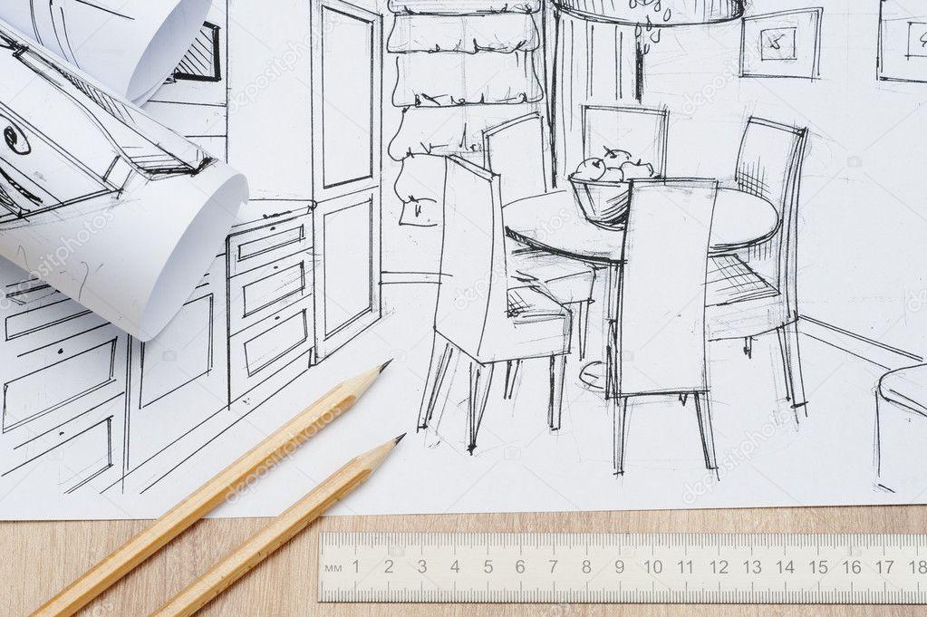 Arquitectura de los rollos de planos arquitect nicos para for Hacer planos a escala