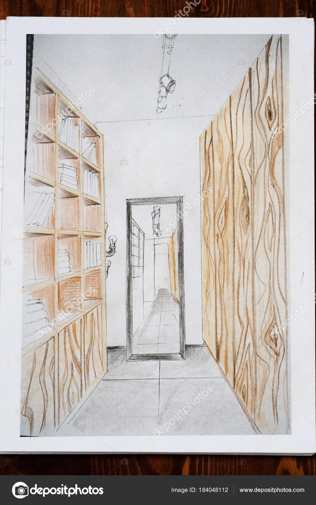 door pencil drawing broken door interior design drawn pencil sketch drawing stock photo ssergio