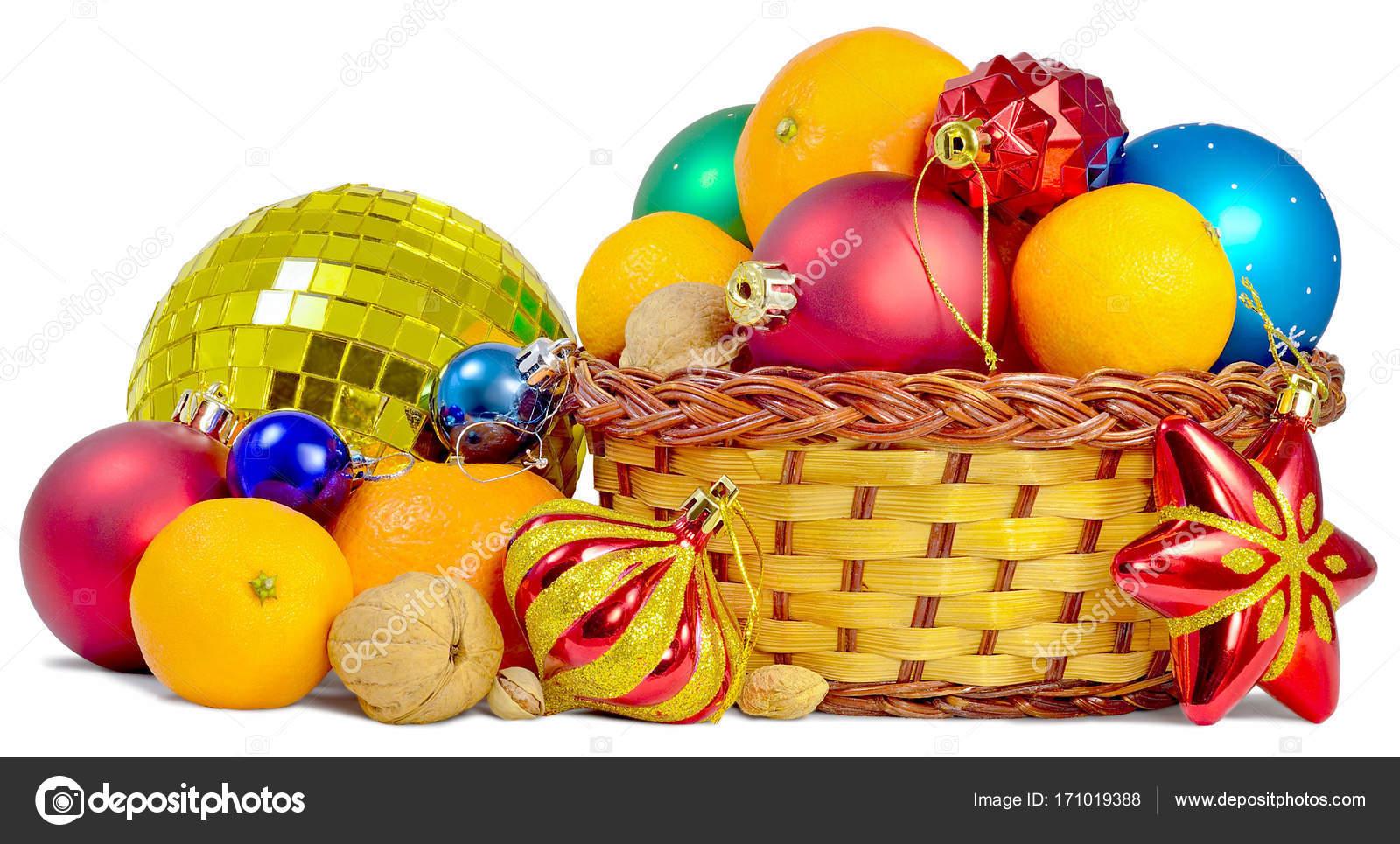 Weihnachts-Geschenke-Korb — Stockfoto © kub_1212 #171019388