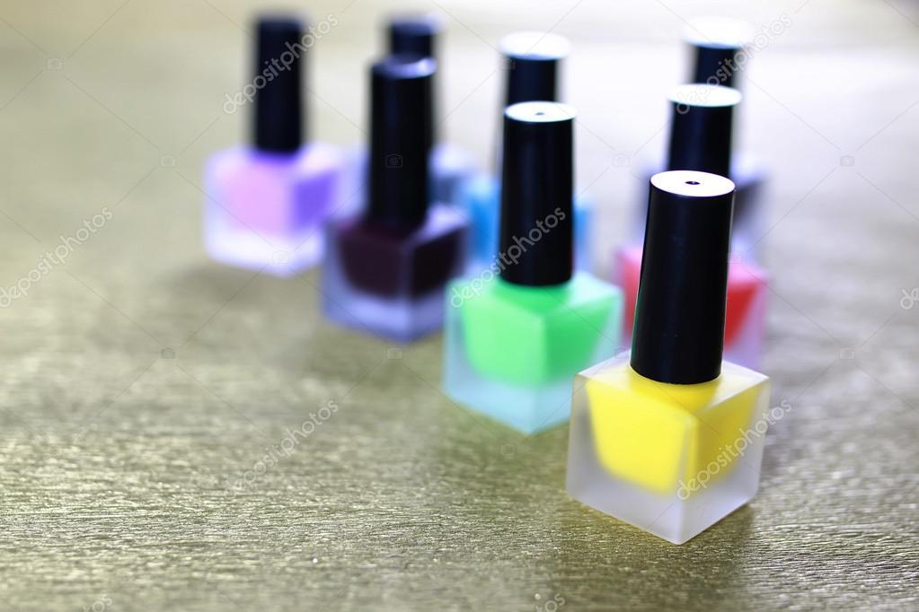 barniz de uñas postizas manicura — Fotos de Stock © alexkich #127500018