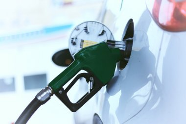 Car refueling gasoline