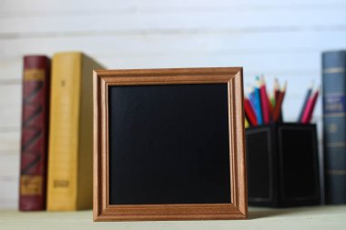 frame for text books and watch