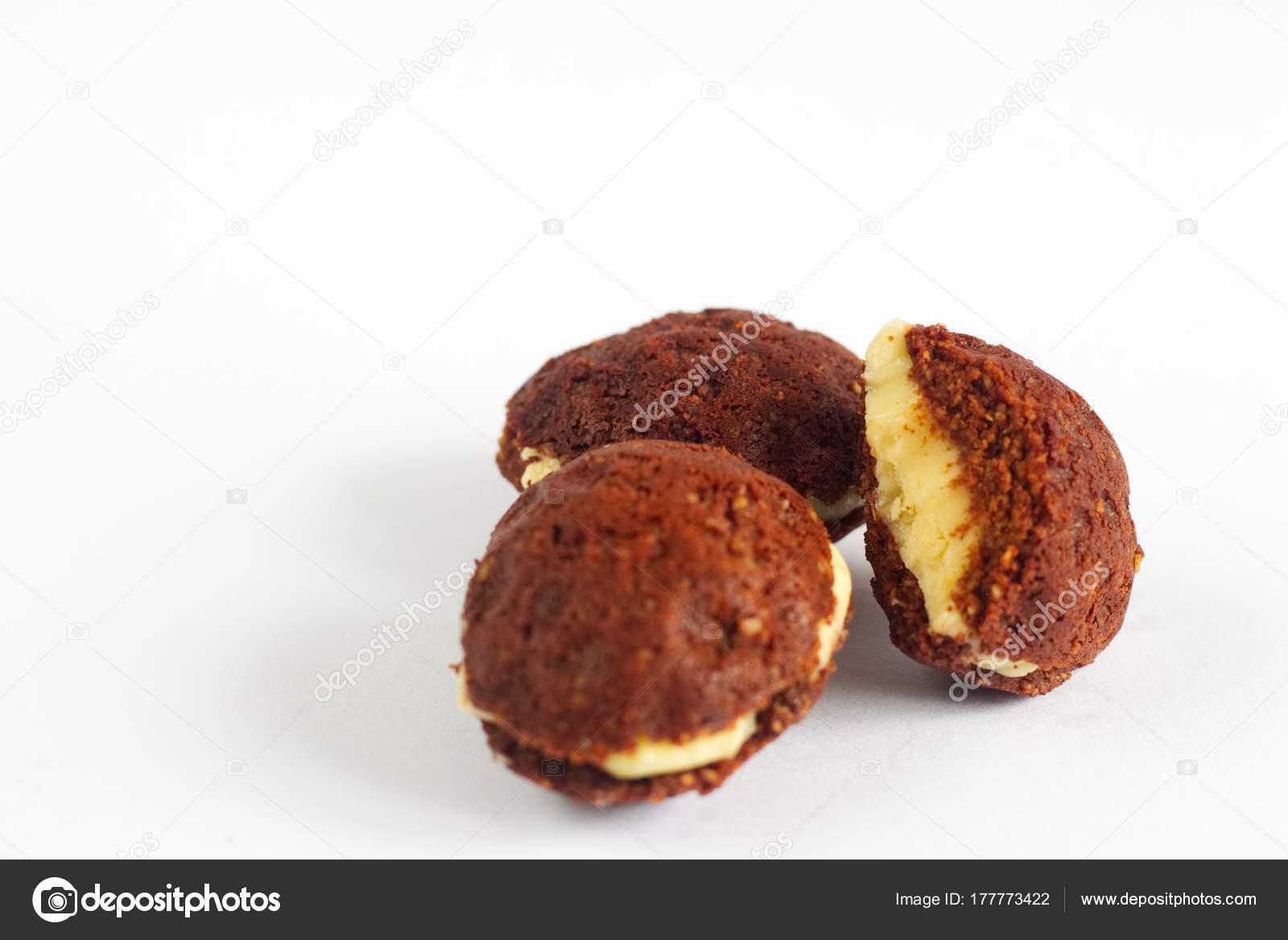 Paleo Weihnachtsgebäck.Handmade Traditional Czech Christmas Sweets Called Nuts Paleo