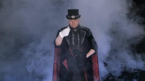 Kouzelník a jeho roztomilá asistentů mizí