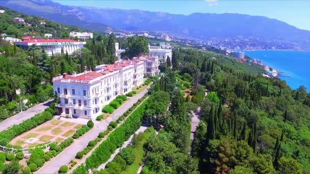 Letecký pohled na Livadijský palác