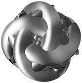 3D obrázek abstraktní postavy