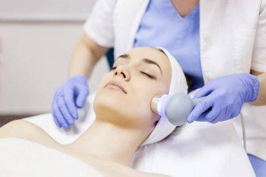 Ultrasound cavitation, face skin anti age treatment