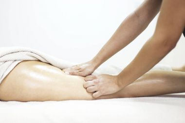Anti cellulite massage for woman