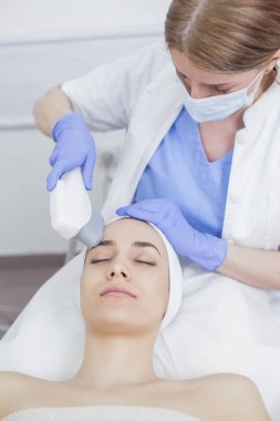 Anti-aging treatment with IPL laser