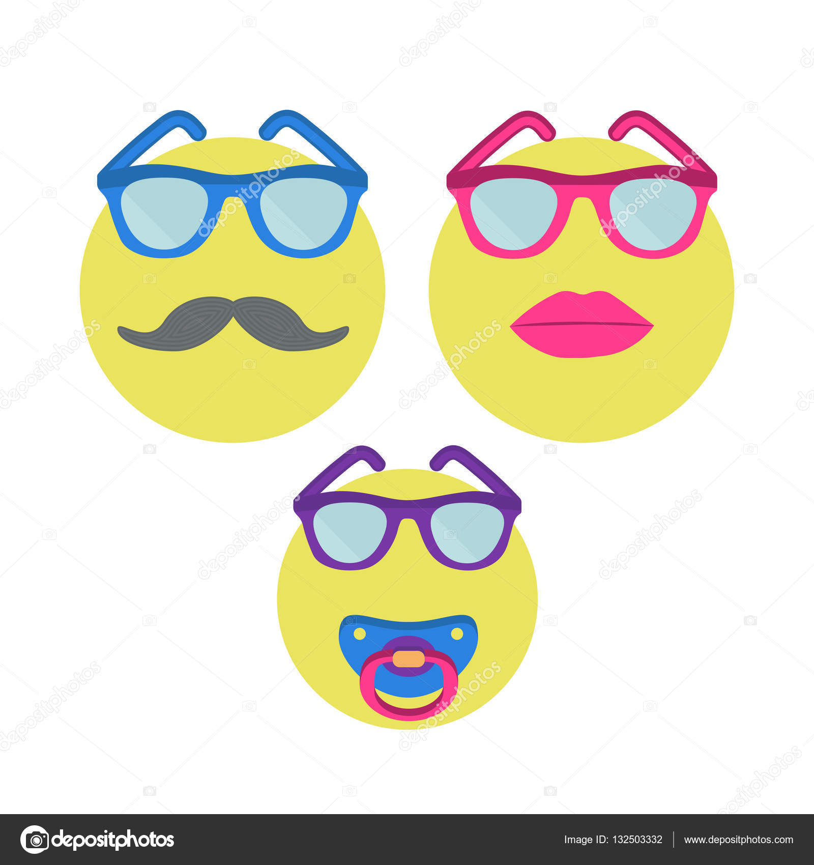 LipstickMan SmilesSmiley Three In Woman Sunglasses With mnvN80w