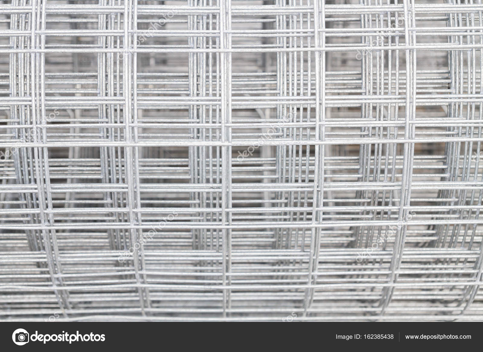 Welded wire mesh galvanized on the basis of the building — Stock ...
