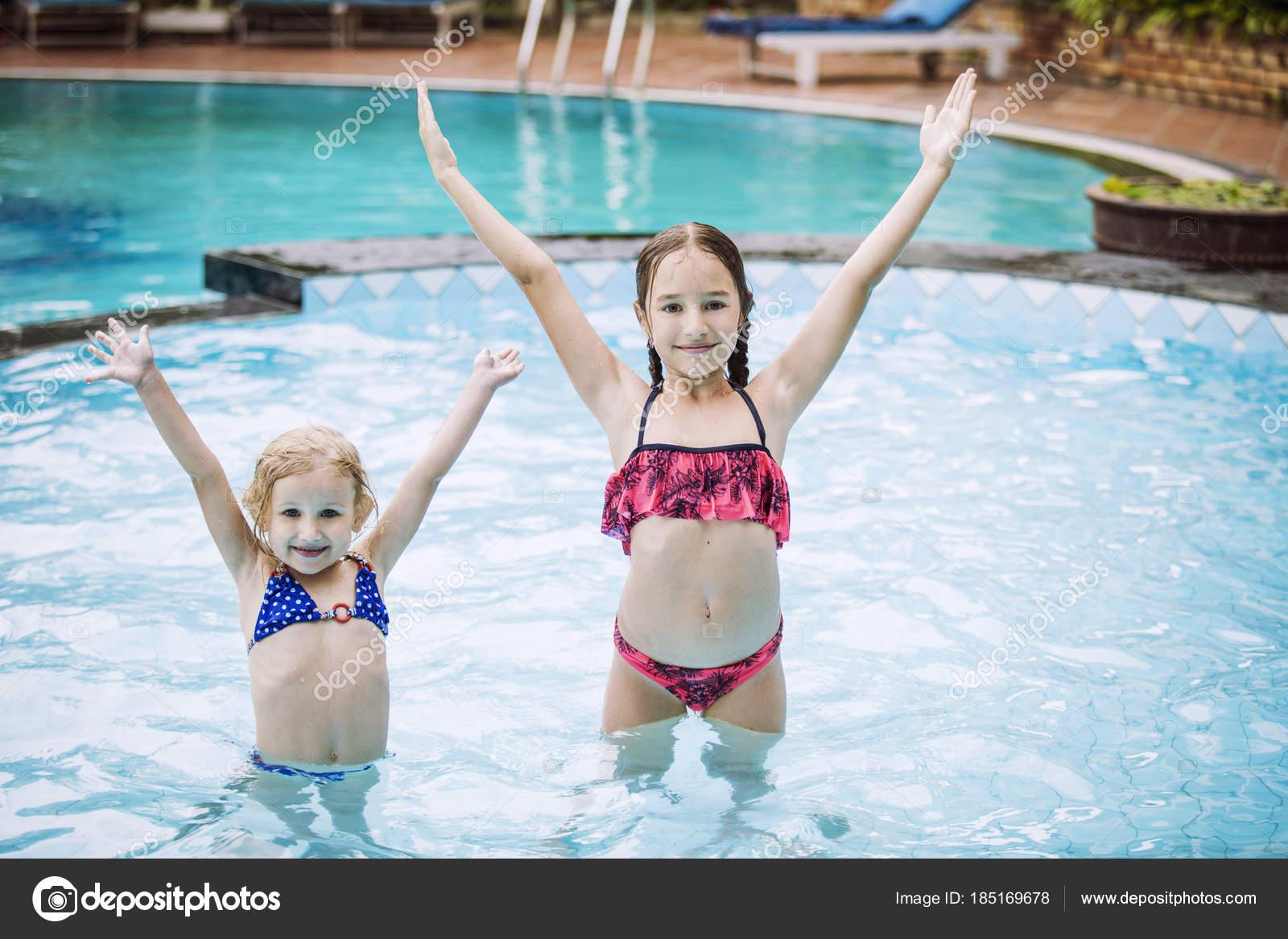 Funny little girl swimsut pic 330