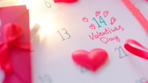 Valentinky den v kalendáři
