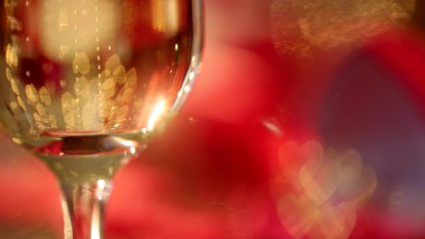 Champagne bubbles and wedding rings