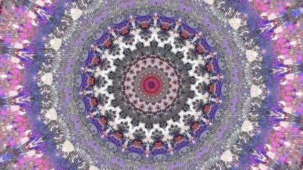 Stílusos Kaleidoszkóp Kötés Animáció mozgó zökkenőmentes felvételek skandináv stílusban. Kombinációja alapján a klasszikus meleg varrat nélküli kötött minta és eredeti művészeti festészet. Pszichedelikus mozgás.