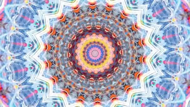 Krásná Original Art terapie pohybující Mandala. Bezproblémová smyčková psychoterapie. Geometrické vzory pro nalezení nebo obnovení smyslu pro zdravou duševní rovnováhu. Pro specialistu na jógu, astrologii, výtvarného terapeuta.