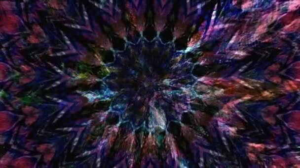 Slow motion Dreamlike Psychedelic Blur záběry pozadí pohybové plochy trendy barevné originální Abstraction Art pattern flow. Pohybující se bezešvá smyčková psychoterapie.