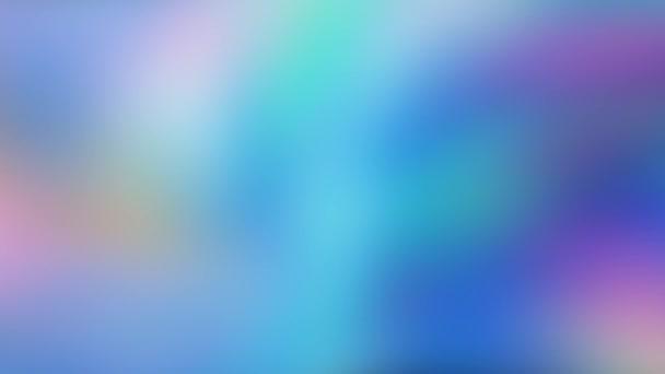 Abstraktní rozmazané animace barvy pohybující se bezešvé záběry. Koncept vícebarevný tekutý vzor. Trendy Originální Barevné Abstrakční Tok. Krásná textura přechodu.