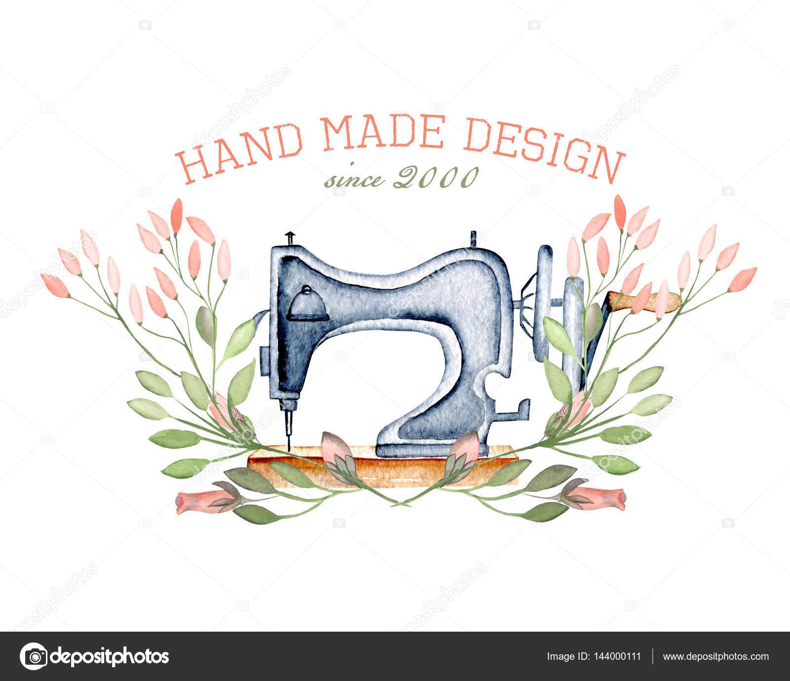 Imágenes: de logotipos de máquinas de coser   Maqueta del logotipo ...