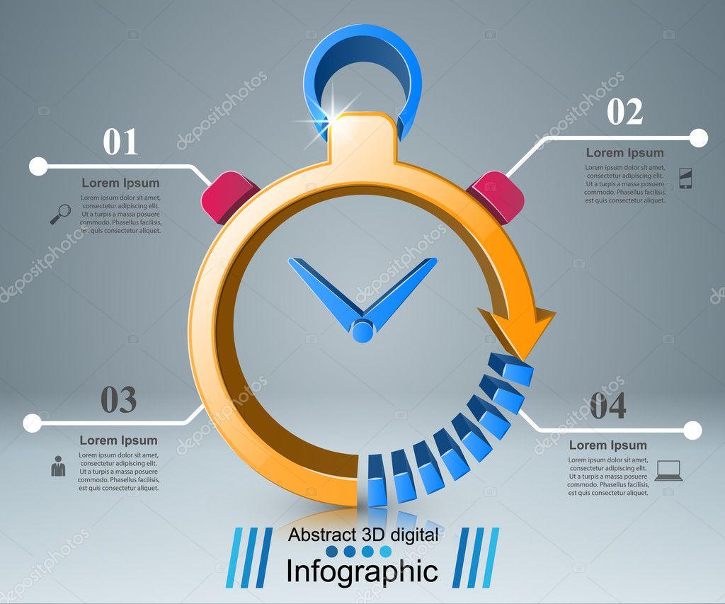 NegociosRelojEl RelojInfografías NegociosRelojEl Infografia Infografia De RelojInfografías Icono 5AjLR4