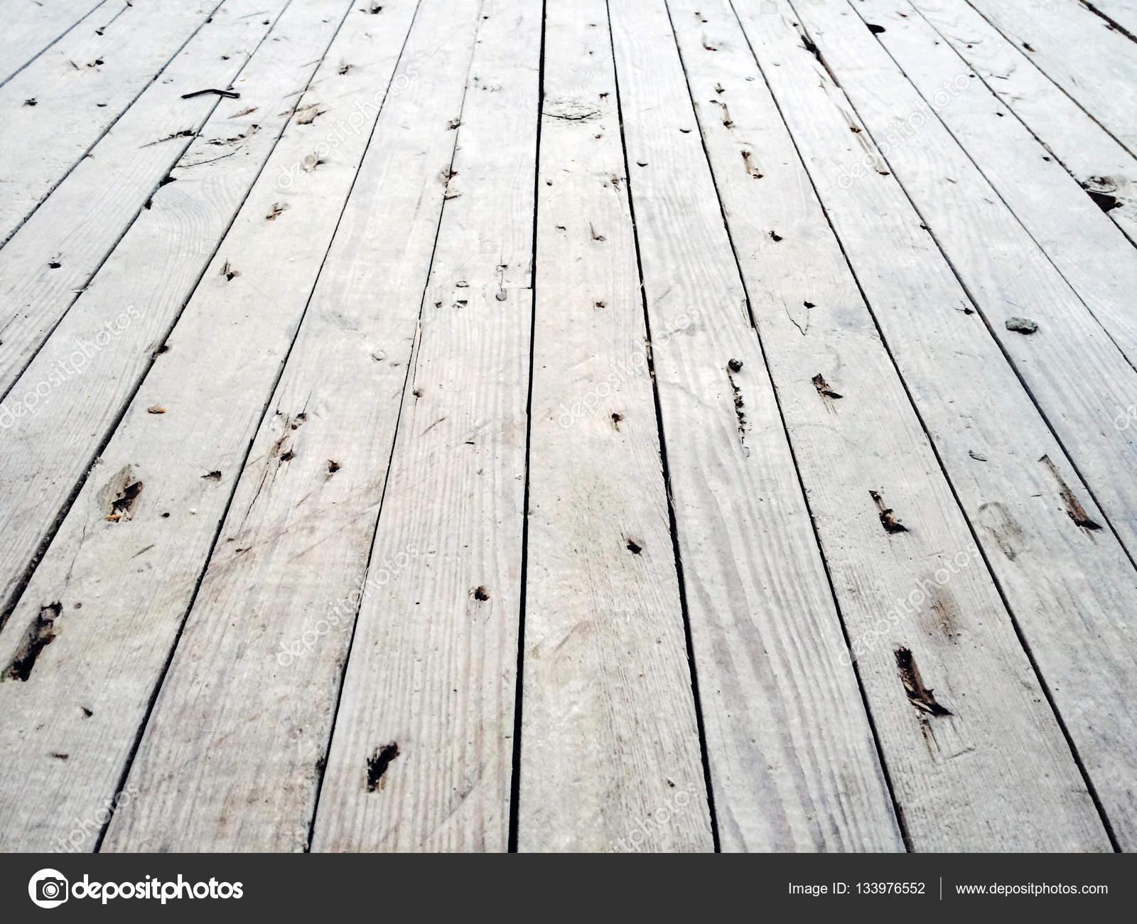 Magnifiek Witte houten vloer achtergrond — Stockfoto © dawesign #133976552 &KT93