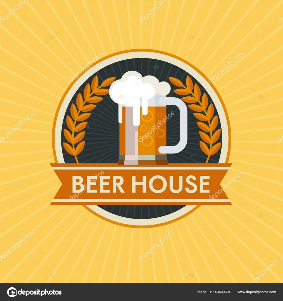 Vector Logo Beer Mug Beer House Vector Image By C Katedemianov Vector Stock 163600694