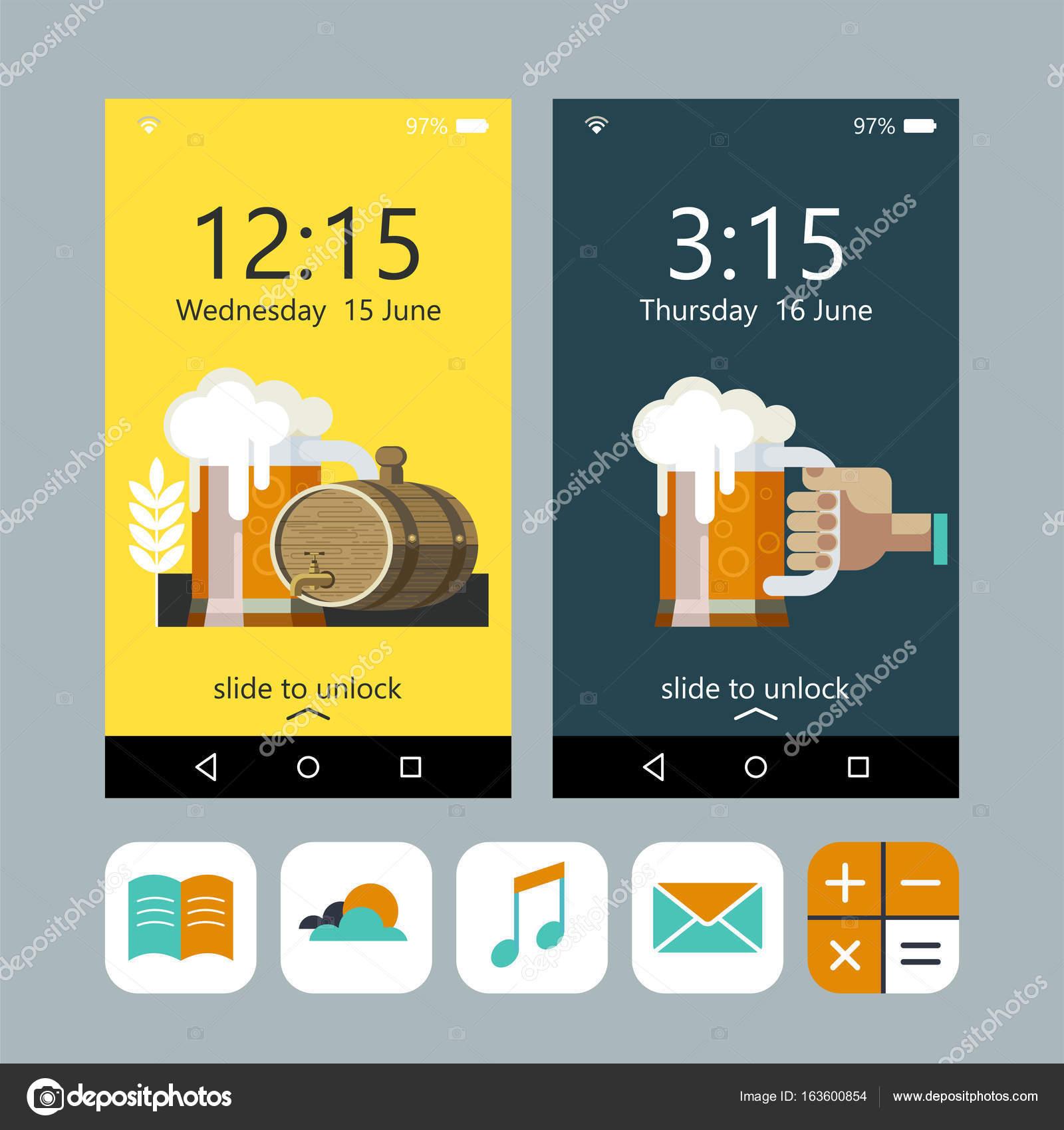 Beer Mug Wallpaper Wallpaper On The Phone A Mug Of Beer