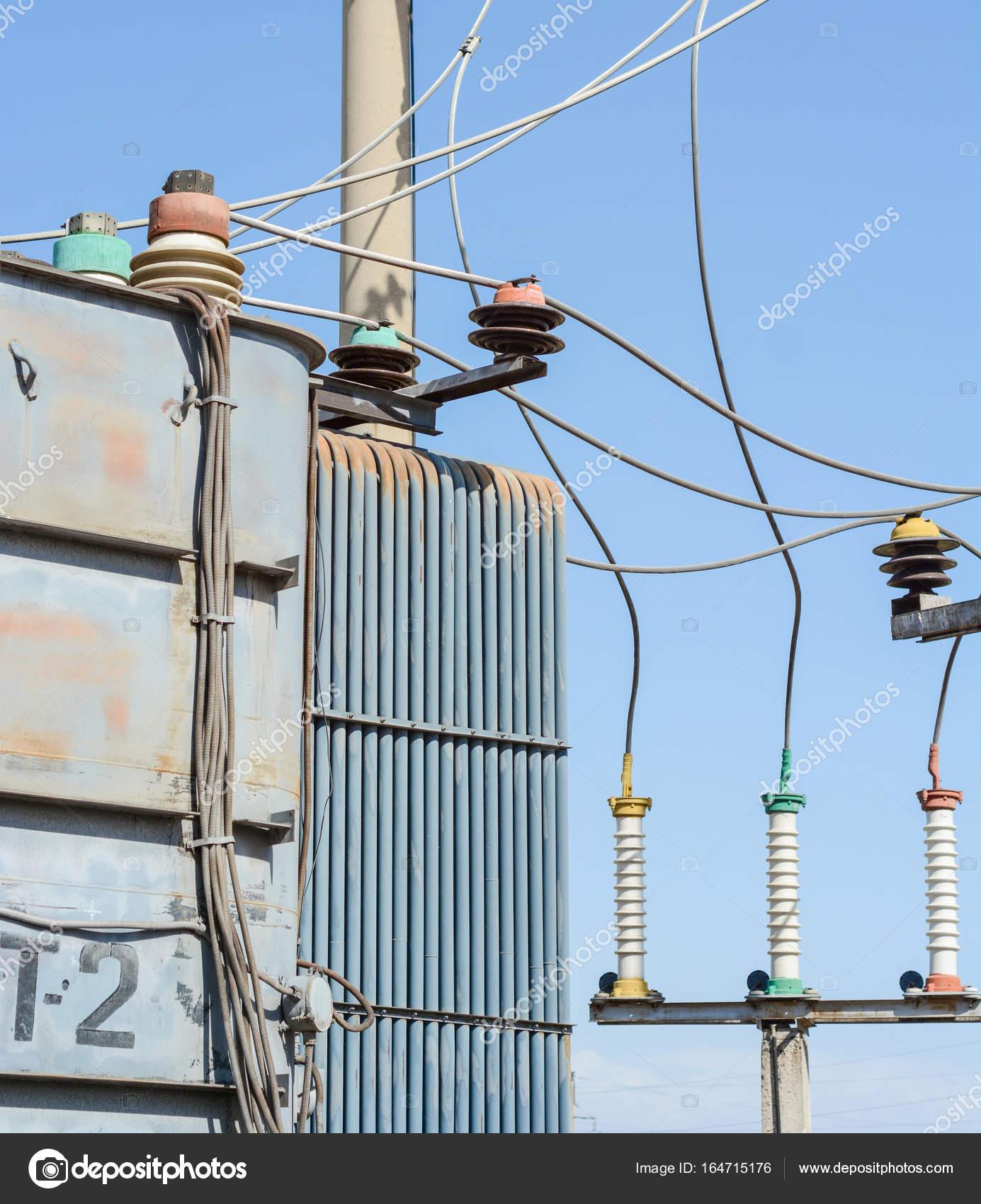 High Voltage Old Transformer Stock Photo Panzer25 164715176 Wiring